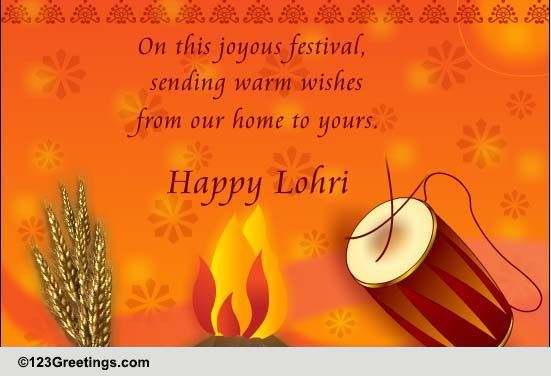 Lohri Cards Free Lohri Wishes Greeting Cards 123 Greetings