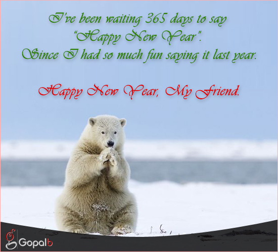 new year for friend