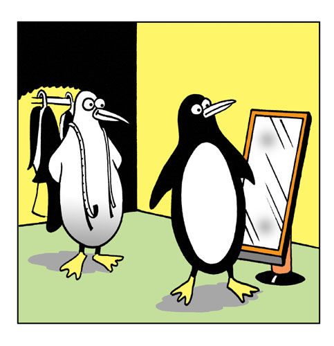 Penguin Suit.