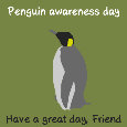 Penguin Awareness Day , Green