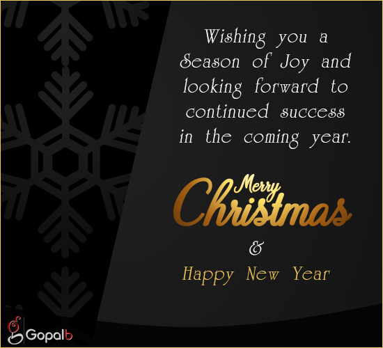 Wishing You A Season Of Joy...