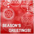 Season's Greetings Wishes For You.