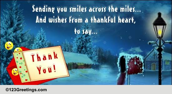 Thank You Cards Free Wishes Greeting