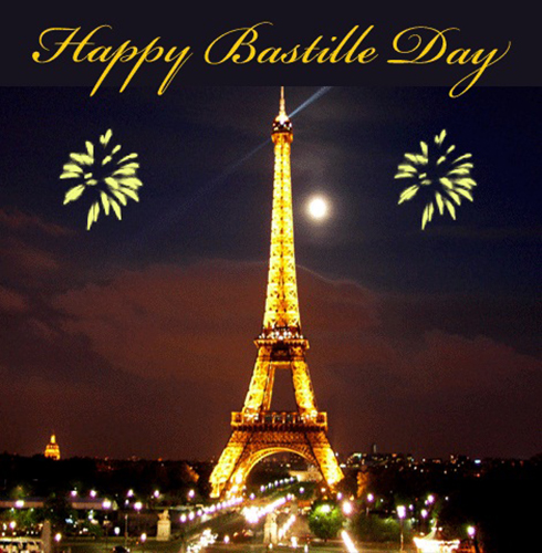 Happy Bastille Day With Fireworks...