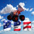 4th Of July Monster Truck.