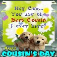 You Are The Best Cousin.