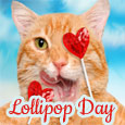 My Yummy Purr-fect Lollipop!