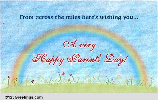 Send Parents' Day Ecard!