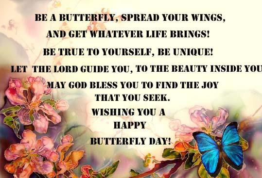 Send Butterfly Day Ecard!
