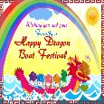 A Happy Dragon Boat Festival Card.