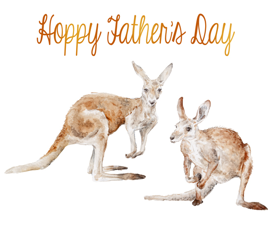 Hoppy Father's Day!