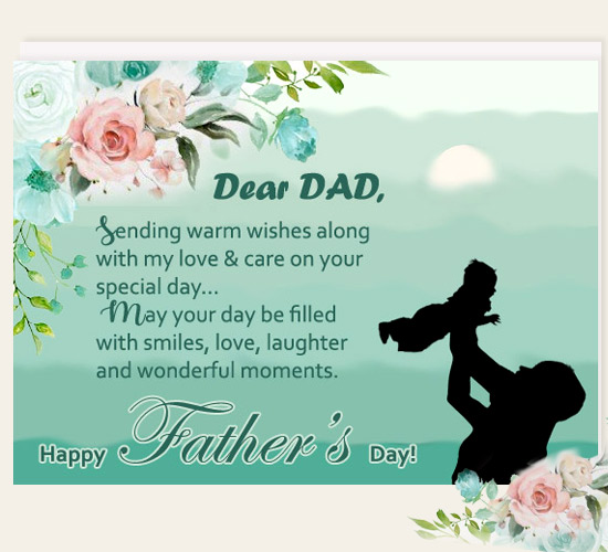 Warm Wishes On Father's Day...