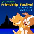 A Cute Friendship Festival Ecard.