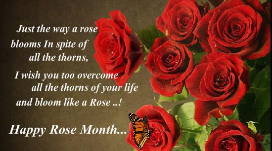 Send Rose Month Ecard!