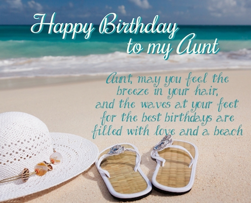 A Summer Birthday Wish For My Aunt.