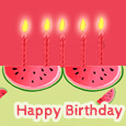 Happy Birthday Watermelon!