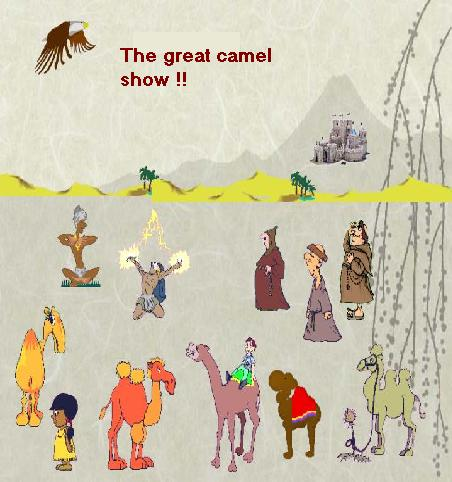 A Beautiful Card Depicting The Camel.