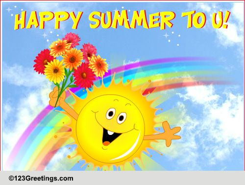 Summer cards free summer wishes greeting cards 123 greetings m4hsunfo