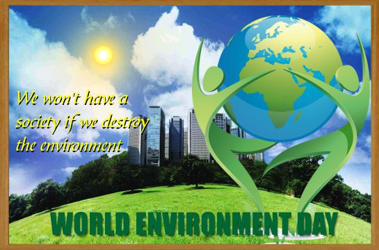 Celebrate World Environment Day.