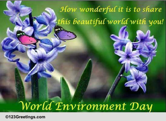 Send World Environment Day!