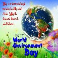 A World Environment Day Card For You.