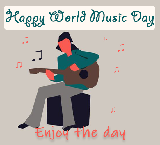 Happy World Music Day, Buddy!