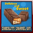 A Sweet Chocolate Caramel Day Ecard.