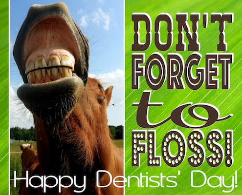 Don't Forget To Floss!