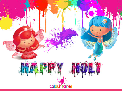 Happy Colorful Holi!