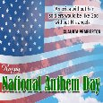 My National Anthem Day Card For You.
