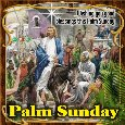 A Palm Sunday Blessings Card For You.