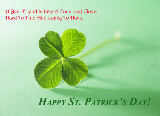 A Four Leaf Clover...