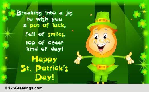 St patricks day cards free st patricks day wishes greeting st patricks day cards free st patricks day wishes greeting cards 123 greetings m4hsunfo