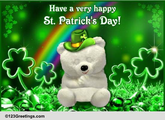 Send St. Patrick's Day Greetings!