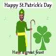 St Patrick's Day, Bishop Of Ireland.
