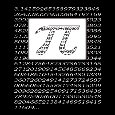 Happy Pi Day Black And White