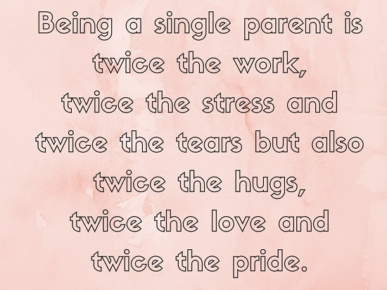 Send Single Parent's Day Ecard!