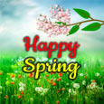 Best Wishes For Happy Springtime.