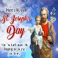 A Blessed St. Joseph's Day.