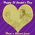 Happy St. Joseph's Day, Heart.