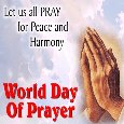Let Us All Pray For Peace And Harmony.