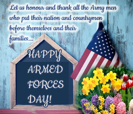 Let Us Honor & Thank All The Army.