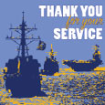 Thank You For Your Navy Service.