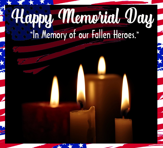 Memorial Day Wishes For Our Soldiers.