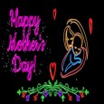 Neon Art Mother's Day Wish.
