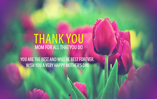 Thank You My Dear Mom.