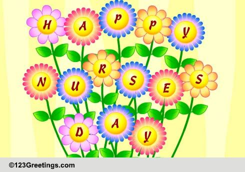 Nurses Day Cards Free Wishes Greeting