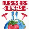 Nurses Are Angels Nurses On Earth.