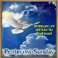 Pentecost Sunday Card.