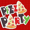 Pizza Party Day. Fun Pizza!